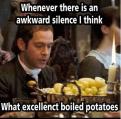 Funny meme mocking Mr. Collins.