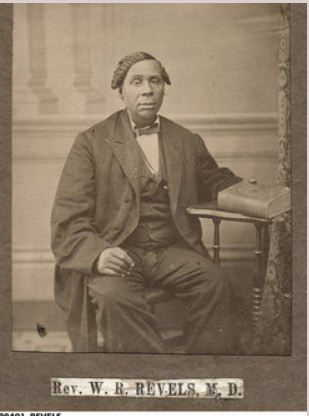 Revels, Rev. Willis R. (MD) brother of