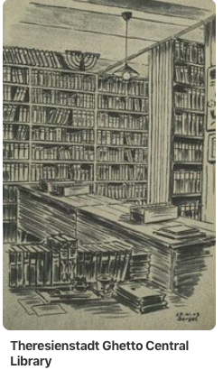 Theresienstadt Ghetto Central Library
